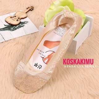 Kaos Kaki Invisible Socks Renda - Premium