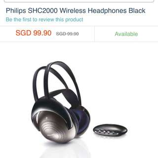 Philips Infrared Wireless Headphones