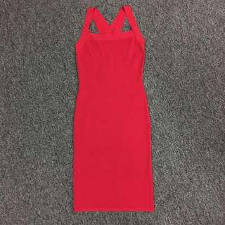 Michael Kors 紅色裙