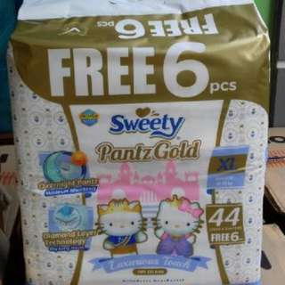 Sweety Gold Free 6 XL 44