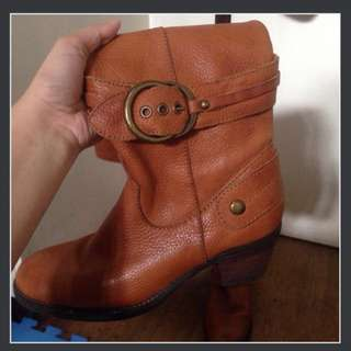 Dr. Kong Leather Boots