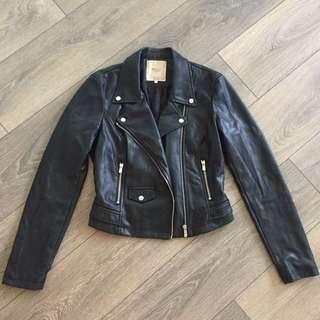 Zara Leather Jacket size medium