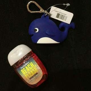 Friendly Whale Bath&Body Works PocketBac Sanitizer And Holder