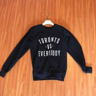 PEACE COLLECTIVE TORONTO VS EVERYBODY SWEATER