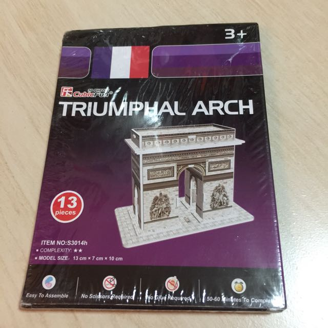 3d puzzle - World's Great Architecture 世界名建築