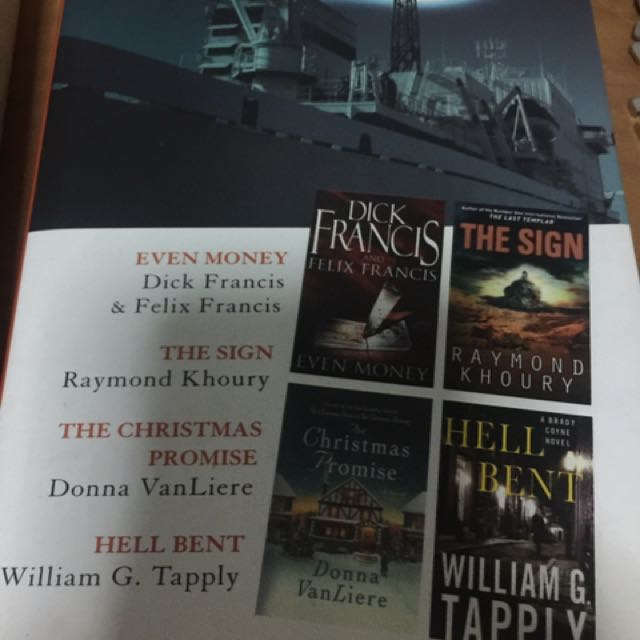 The Christmas Promise Book.4 Titles Even Money The Sign The Christmas Promise Hell Bent
