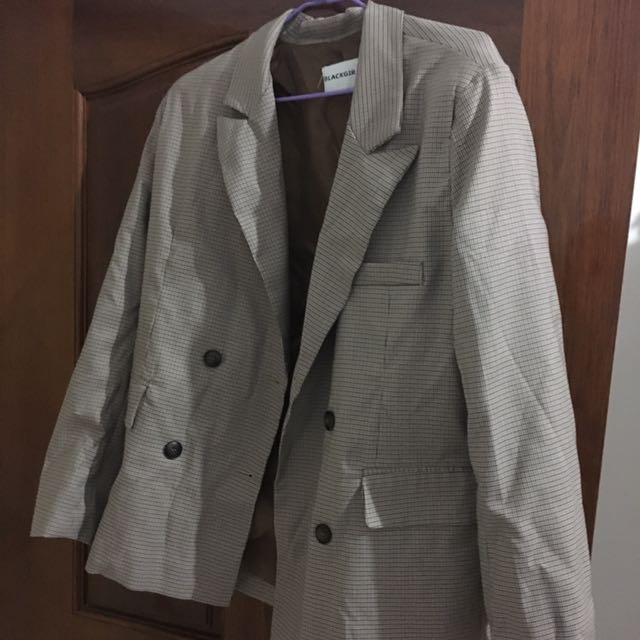 韓風西裝外套