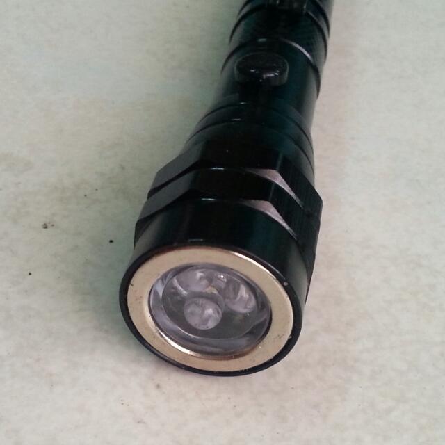 聲寶伸縮軟管手電筒