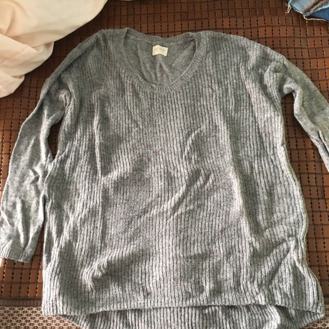 中長版毛衣
