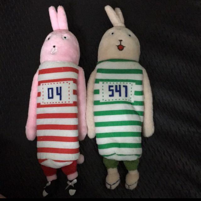 監獄兔 黑羊 小柚 筆袋 收納袋