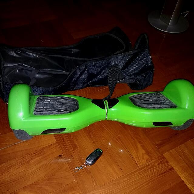 平衡車 螢光綠色 風火輪 Hoverboard Segway