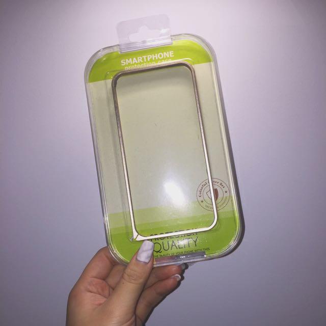 🌊 iPhone 6/6s Gold Bumper
