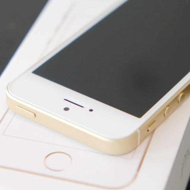(蘋果幫) iphone SE 16GB 金 台灣公司貨 附玻璃貼 保到2017年6月25日 剛換整新機加贈玻璃保護貼(價值599) 買新的不如買這台