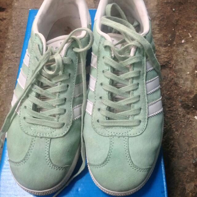REPRICE!! Adidas Gazelle Mint (ORIGINAL Made In Vietnam) c48ffe3a26