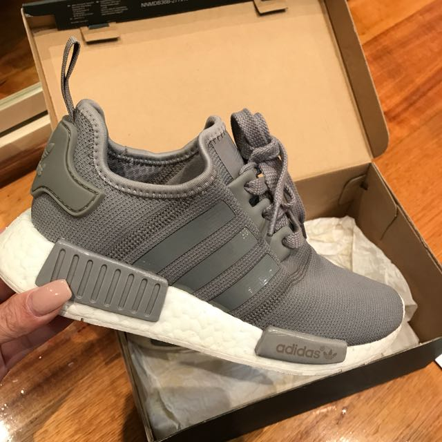 ADIDAS NMD X GREY SIZE UK 4