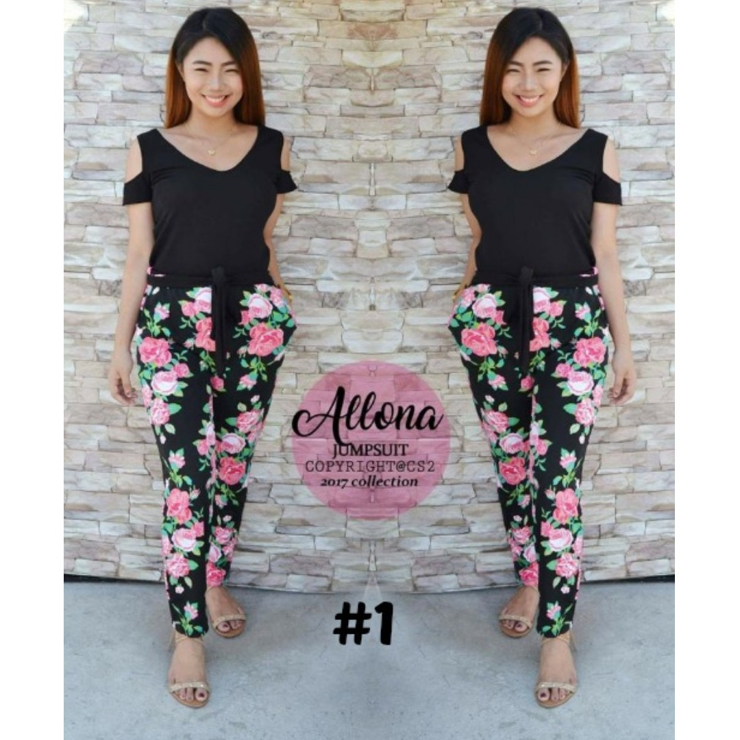 Allona Jumpsuit [#1 to #4]