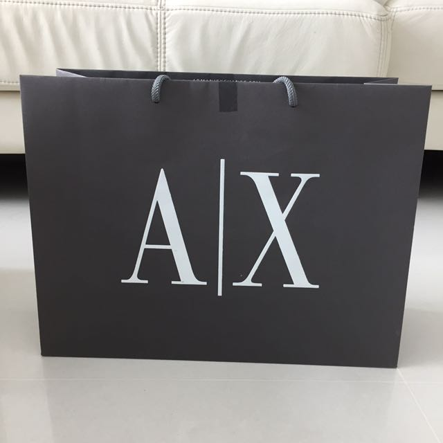 4b7f8de60326 Armani Exchange Paper Bag on Carousell