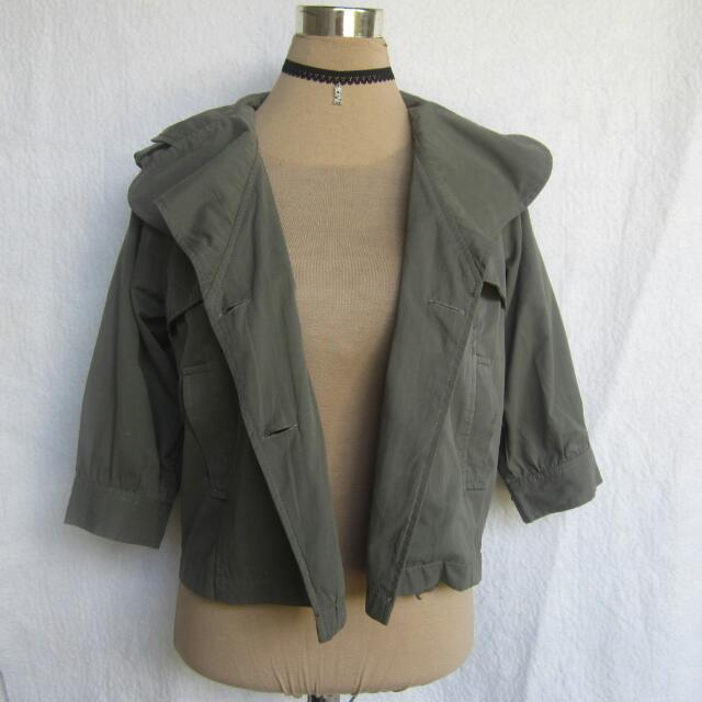 Army Green Topper