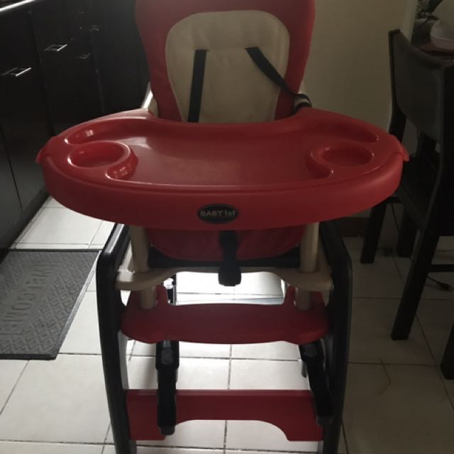 Baby 1st convertible high chair