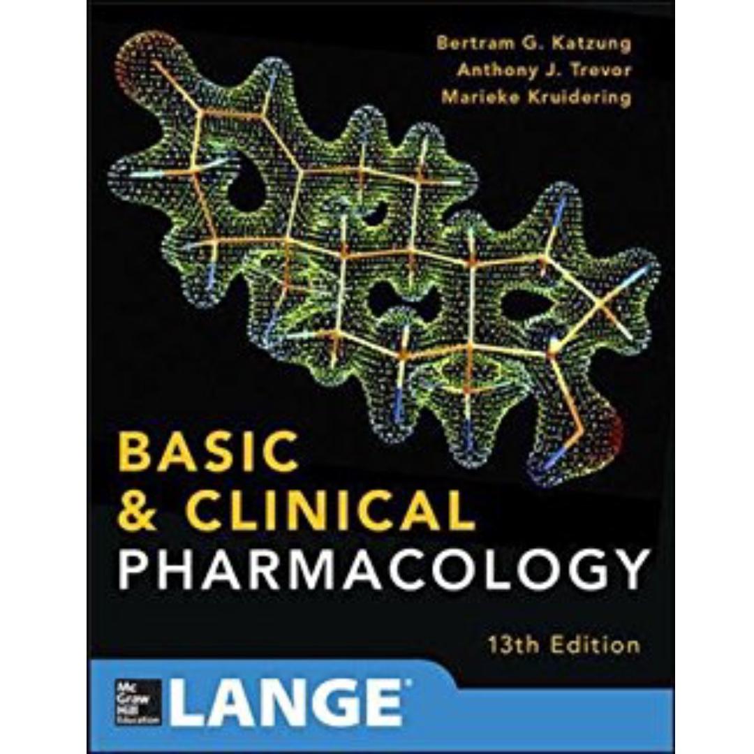 Basic and Clinical Pharmacology - Katzung