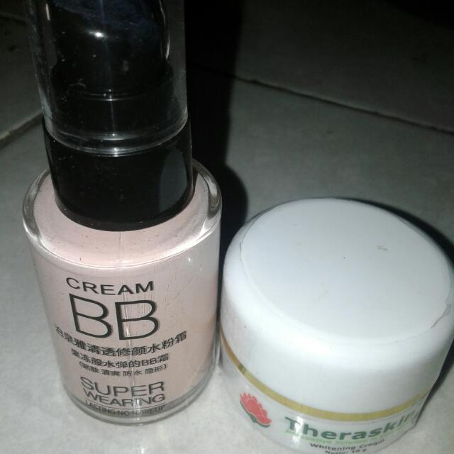 Bb Cream & Cream Theraskin Whitening