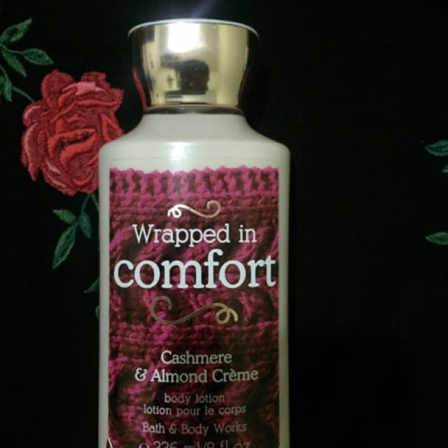 BBW body Lotion Wrapped In Comfort