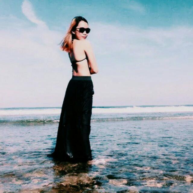 Black Summer Skirt