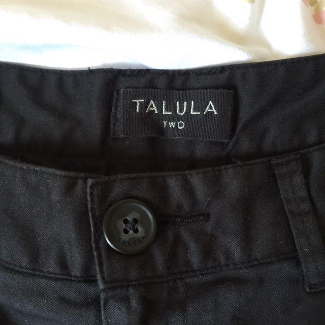 Black Talula Shorts