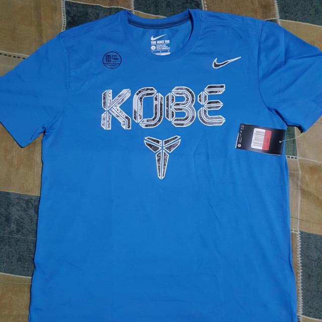 BNWT Blue Nike Kobe Shirt-Large