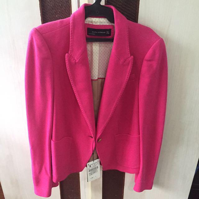BNWT Zara Woman Pink Blazer