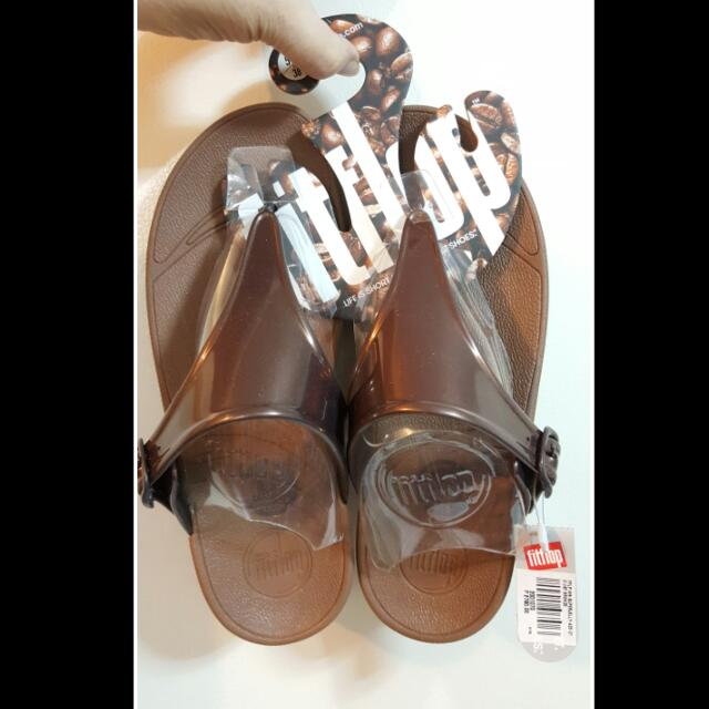 Brand New Fitflop Superjelly in Bronze