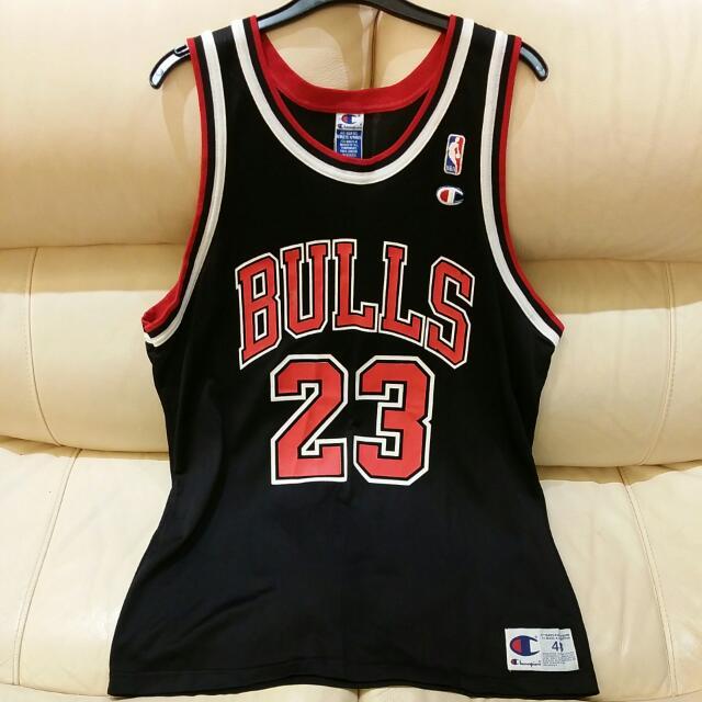 sale retailer 5e468 999cc Champion NBA CHICAGO BULL Jersey Jordan 23