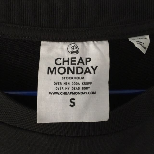 Cheap Monday Sweater Size A With Logo