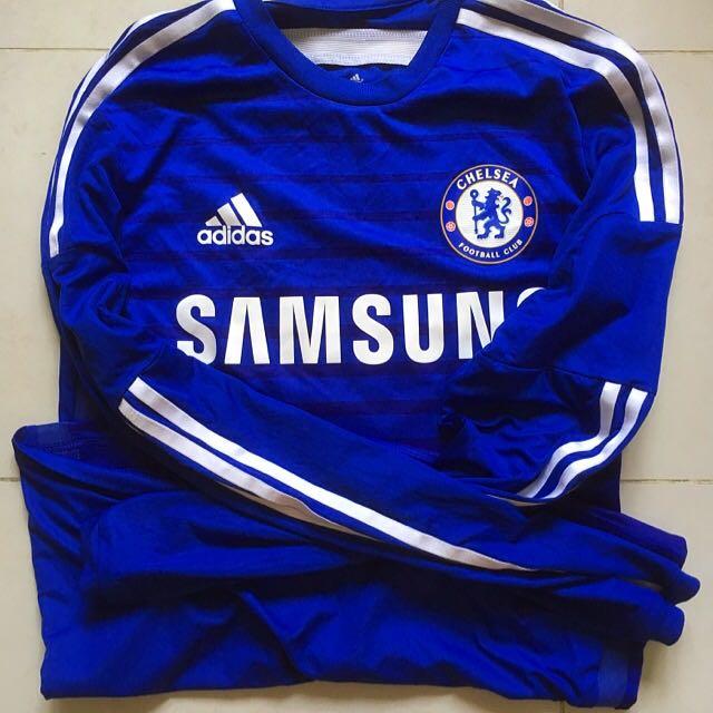 2da3ae738 Chelsea FC 14 15 Adizero Long Sleeve Jersey