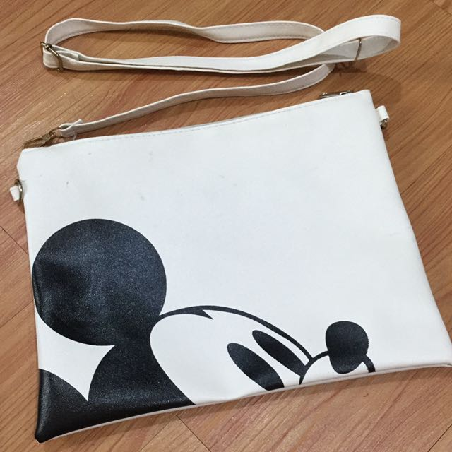 clutch white mickey