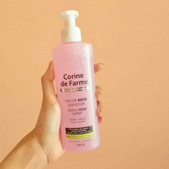 Corin De Farme Gentle Rose Water