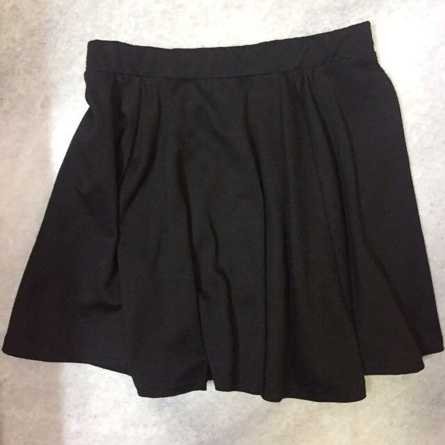 Cottom On Flare Skirt