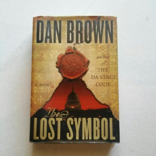 Dan Brown The Lost Symbol Books Books On Carousell