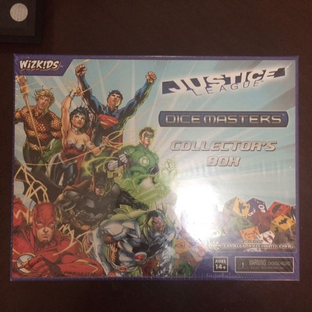 Dice Masters Collector's Box Set Plus 100+ Cards And Dice