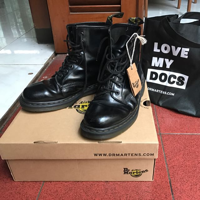 [REPRICE] Dr Marten's 1460 8eyes Black-smooth MIT