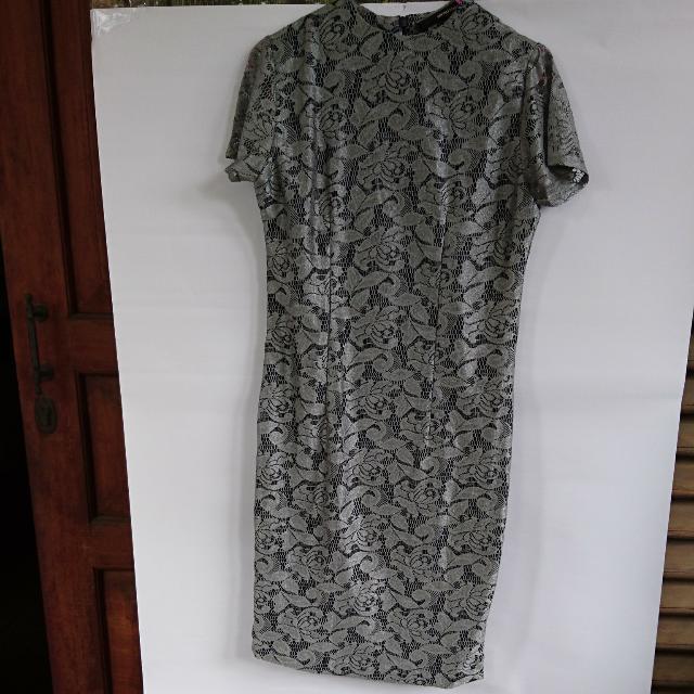 Dress Brocade Shopatvelvet Size S