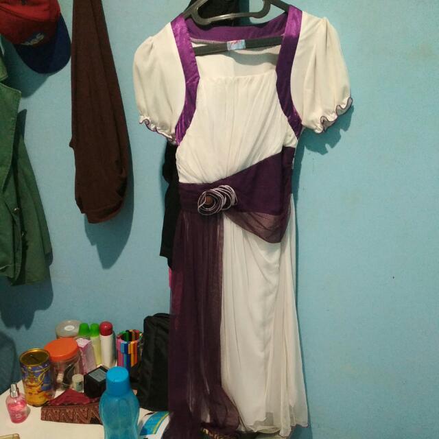 Dress purple-white [NEGO]