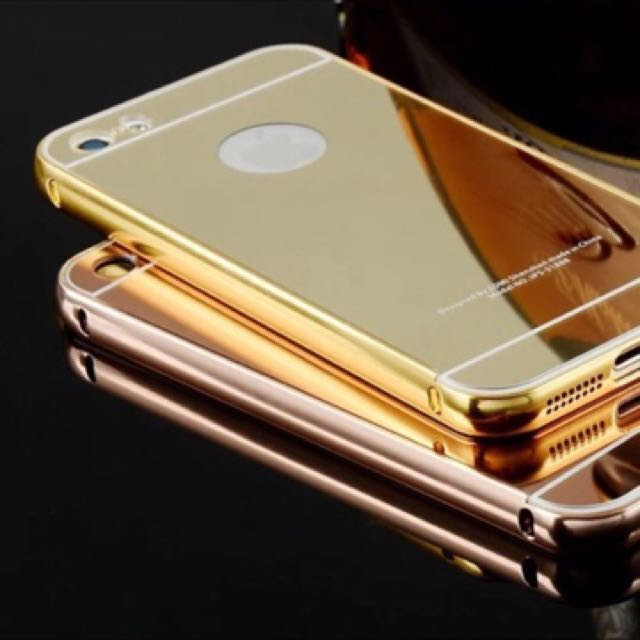 Electroplated Gold iPhone Casing