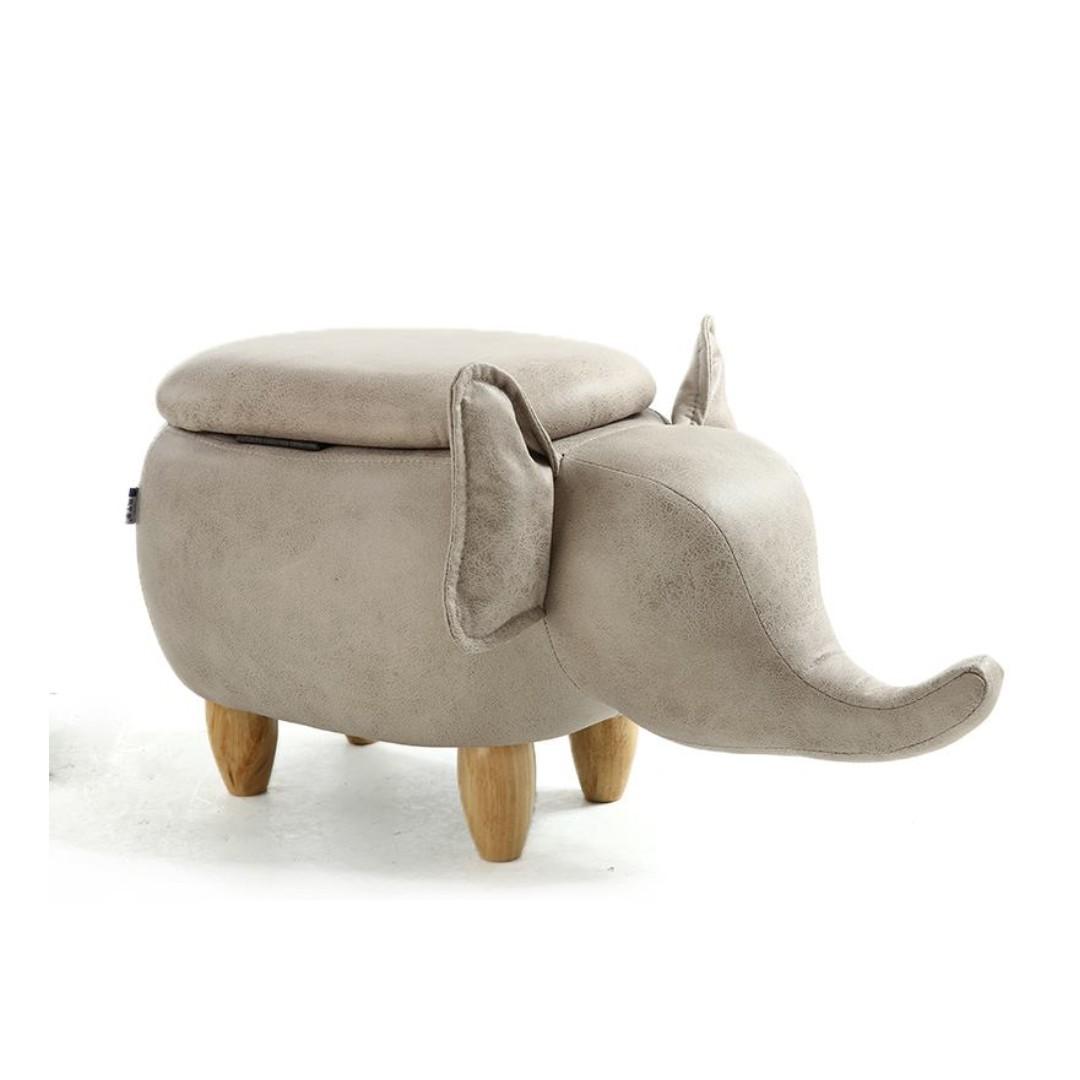 【預購款】Elephant 大象椅凳 翹鼻子 換鞋凳 童凳 收納 儲物 參考 IKEA 有情門 民宿 設計師款 裝修