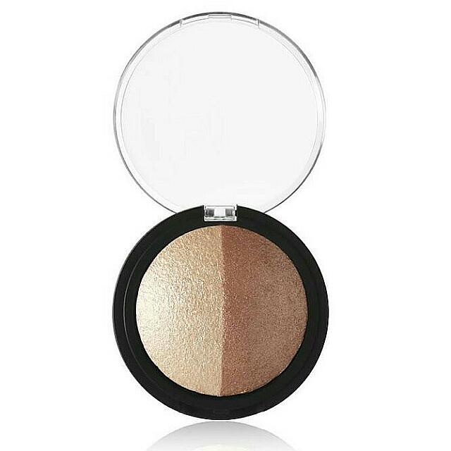 e.l.f Baked Highlighter & Bronzer - Bonzed Glow 100% Original By. ELF US