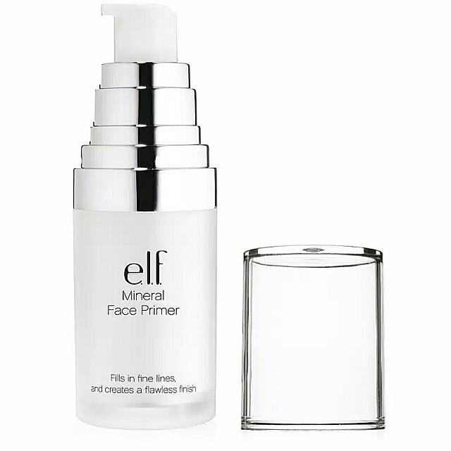 e.l.f Mineral Infused Face Primer Clear 100% Original By. ELF US