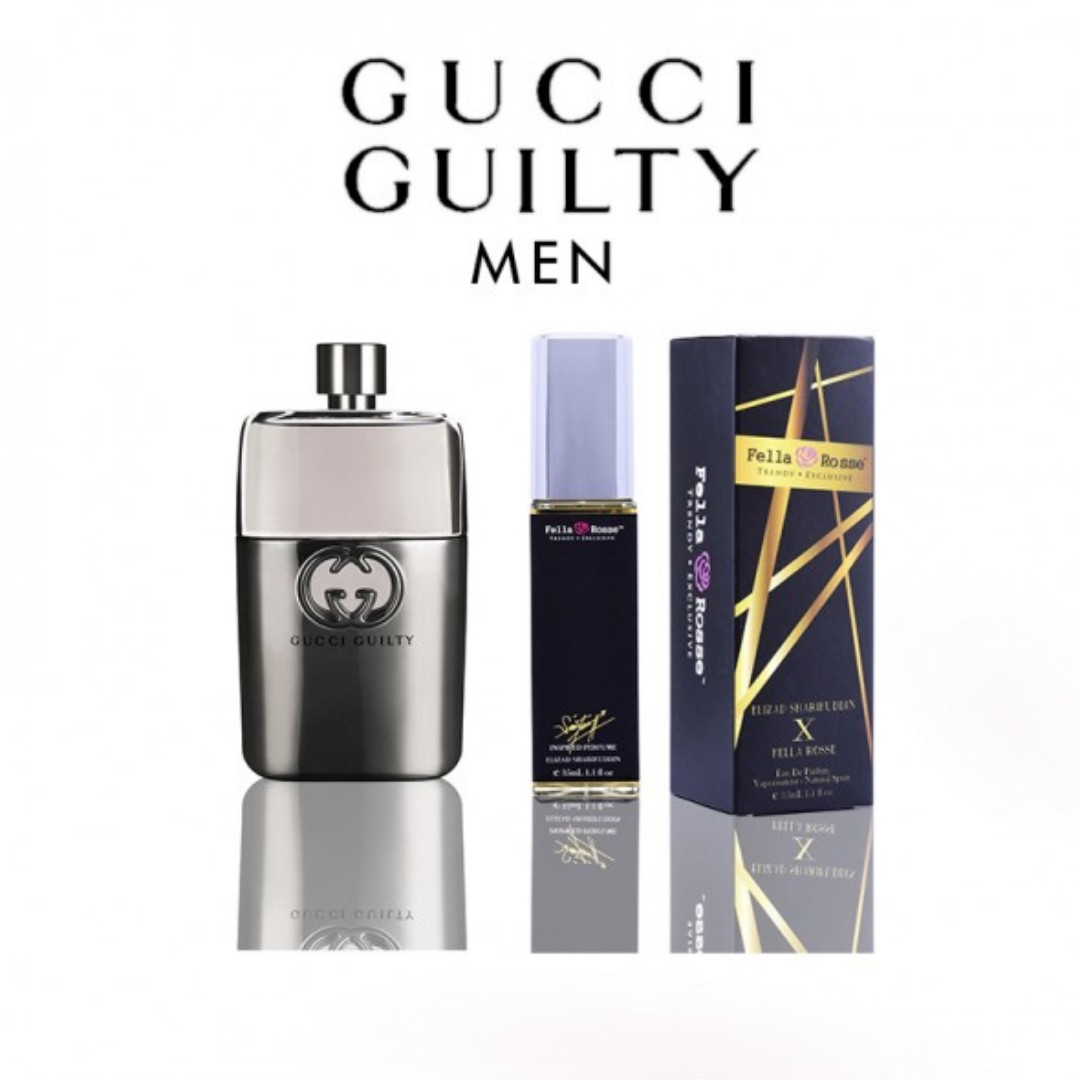 Exclusive Perfume By Elizad Sharifuddin X Fella Rosse Gucci Guilty