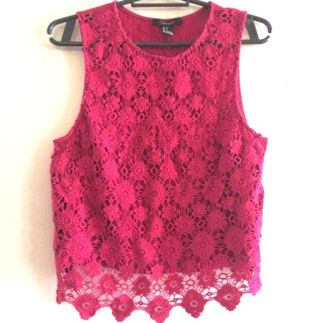 FOREVER 21 Lace Top