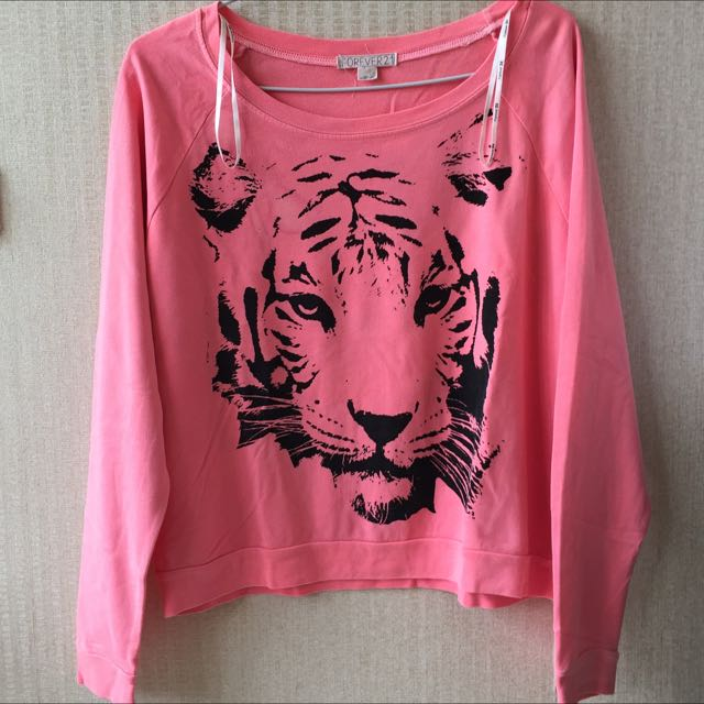 Forever 21 – Pink Tiger Sweater