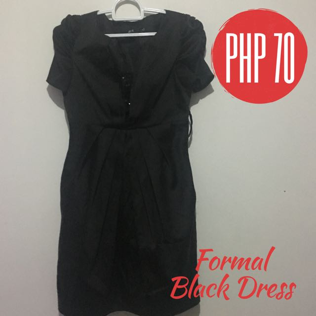 FORMAL BLACK DRESS🌹